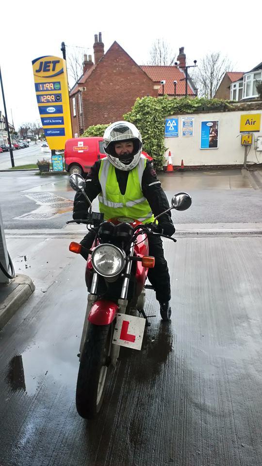 leaner rider